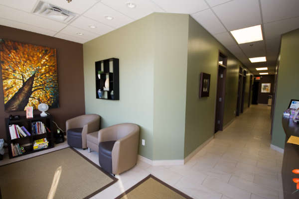Cura Physical Therapies Sitting Area From Front Entrance in West Edmonton